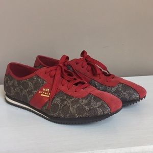 Coach Ivy Signature Sneakers